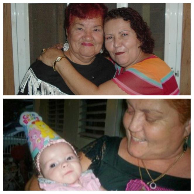 Abuela, Mami, Sofía, tía Mary